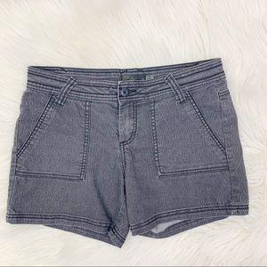 prAna Shorts Size 4 Stretchy Breath Outdoor Gray